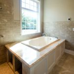 'Diana Royal' Marble Tub Surround